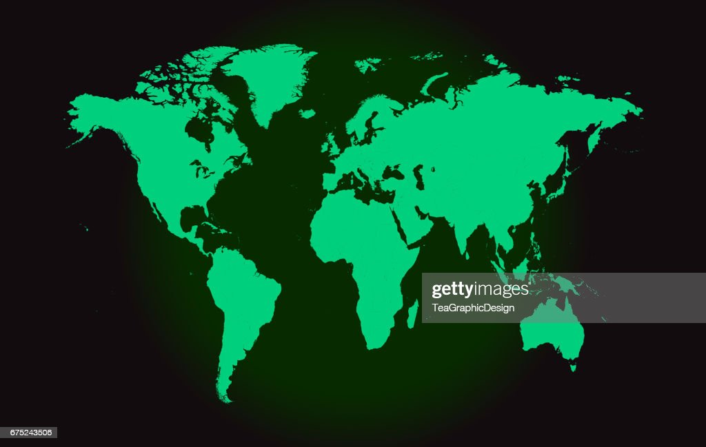 World map vector flat design vector art getty images world map vector flat design vector art gumiabroncs Images
