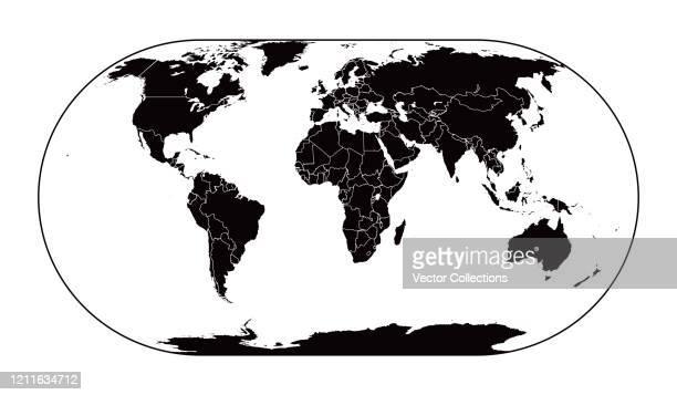 ilustraciones, imágenes clip art, dibujos animados e iconos de stock de mapa mundial - las américas