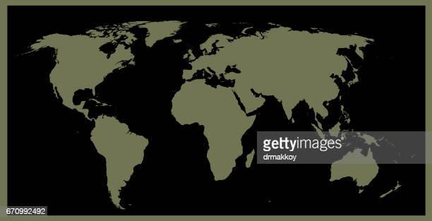 world map - central europe stock illustrations, clip art, cartoons, & icons