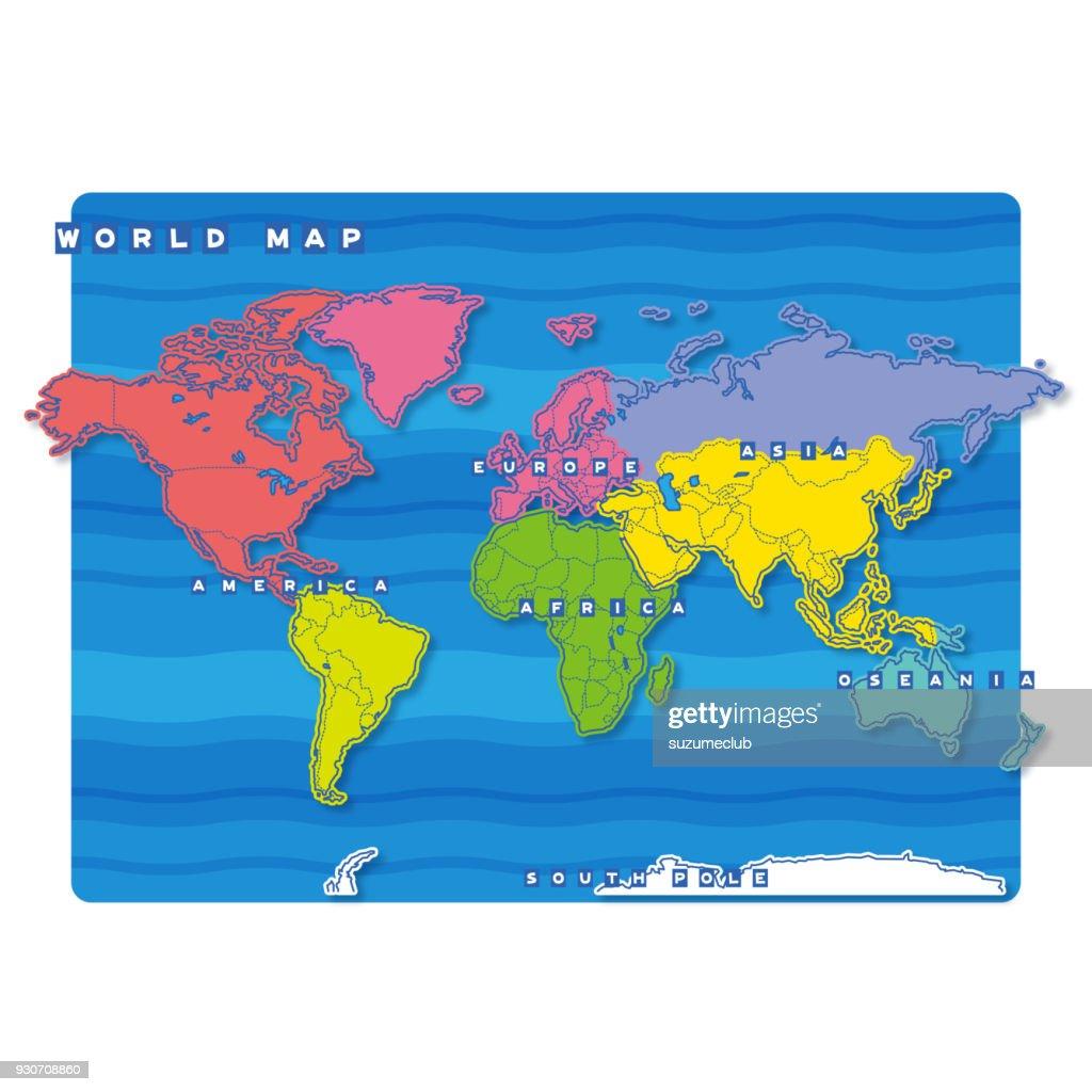 World Map (english)