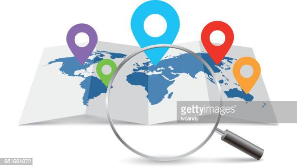 world map - locator map stock illustrations