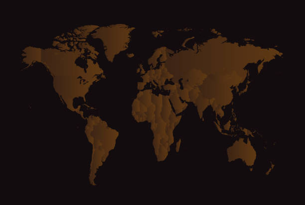 Free transparent anime images pictures and royalty free stock world map with borders brown and black gumiabroncs Images