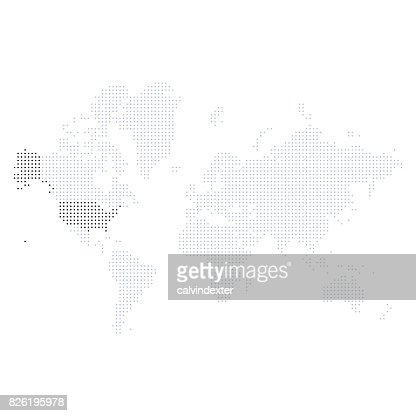 World map with the united states of america highlighted vector art world map with the united states of america highlighted vector art getty images gumiabroncs Choice Image