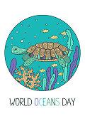 World Oceans Day.