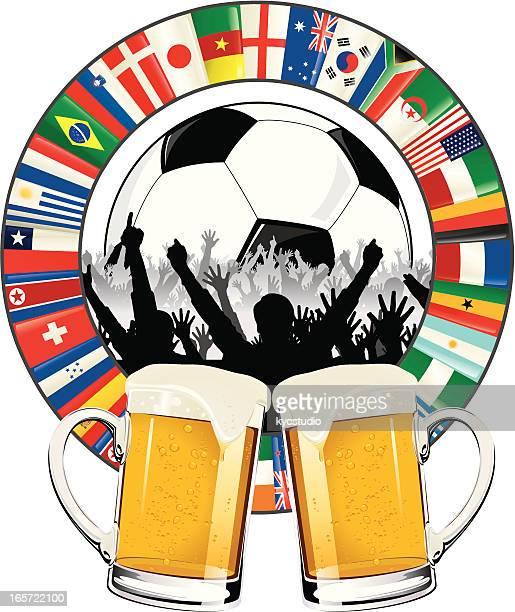 World Soccer cup celebration