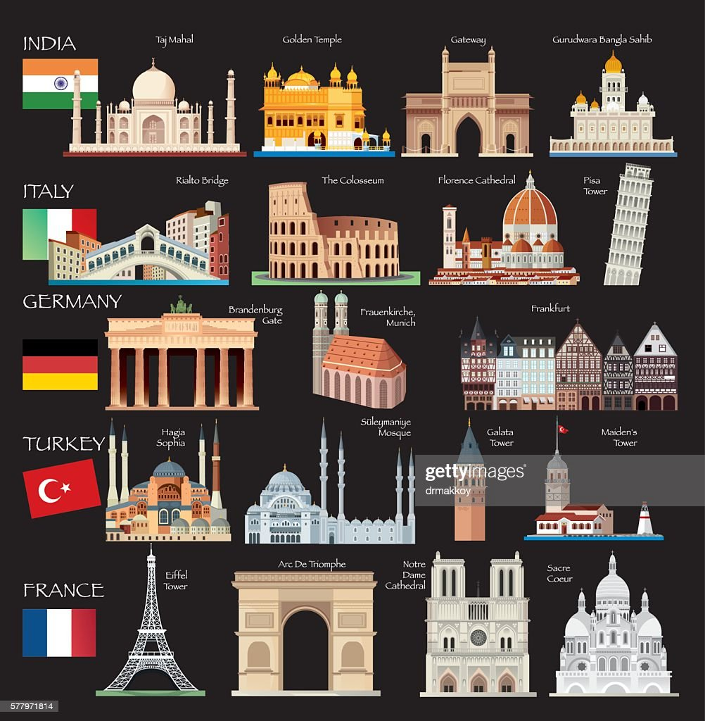 World Symbols : stock illustration