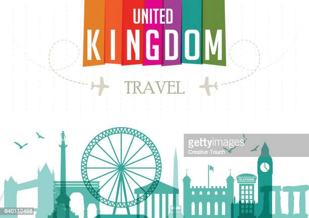 world travel and famous locations - united kingdom - unesco world heritage site stock illustrations