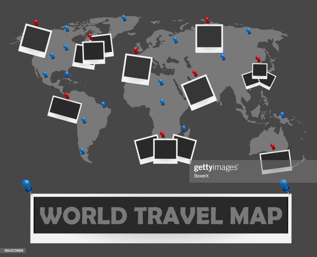 Fein Karte Der Welt Bilderrahmen Zeitgenössisch - Bilderrahmen Ideen ...