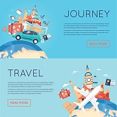 World Travel. Planning summer vacations. Tourism and vacation theme.