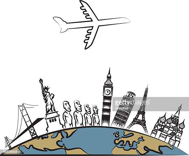 world reisen - russland stock-grafiken, -clipart, -cartoons und -symbole