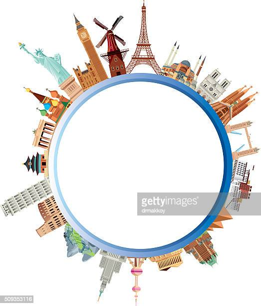 world travel - business travel stock illustrations