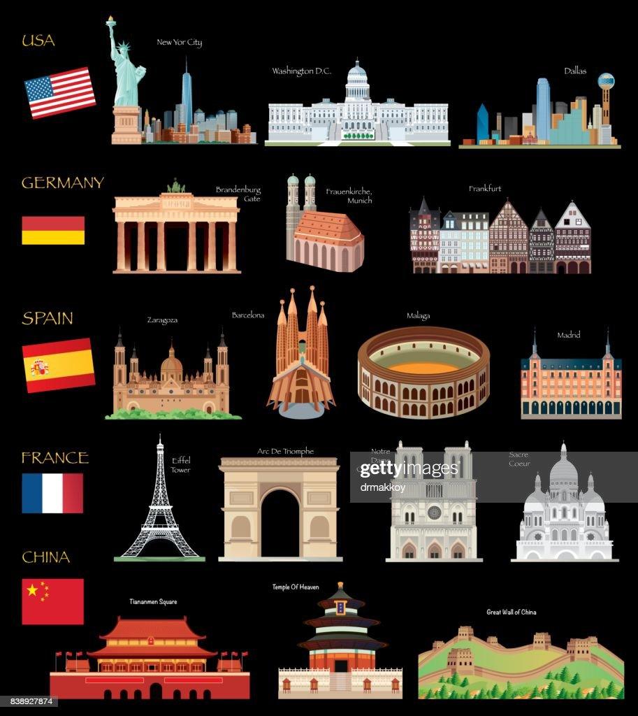 World Travel : stock illustration