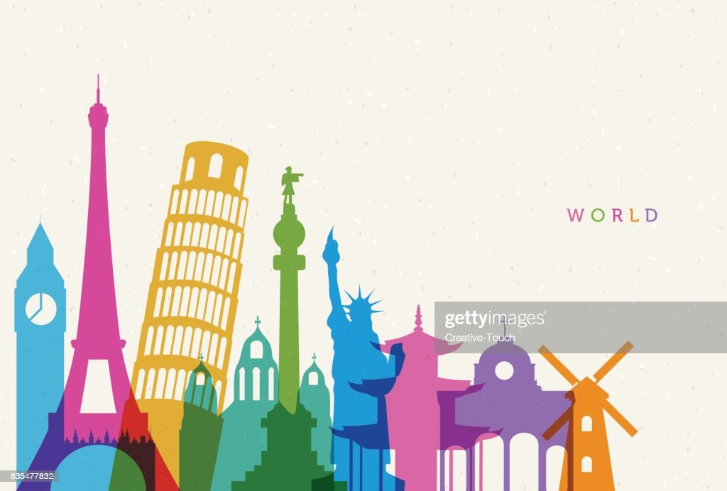 World : stock illustration