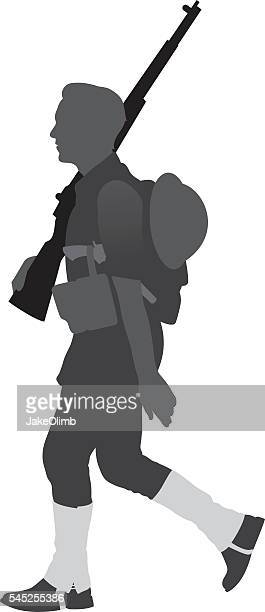 World War I Soldier Silhouette