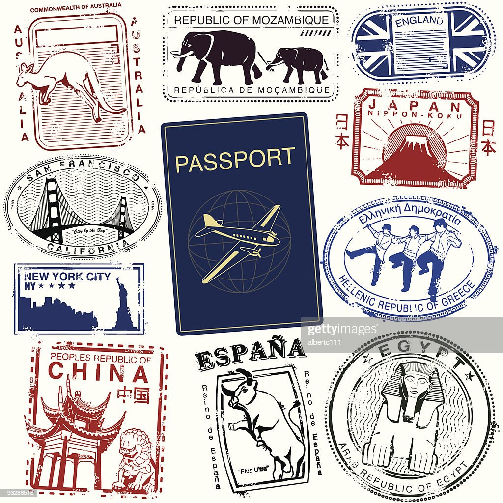 World Wide Travel Stamps