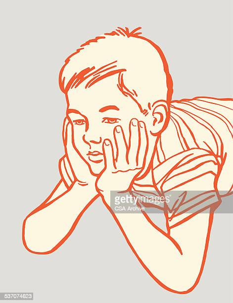 worried boy - slow stock illustrations, clip art, cartoons, & icons