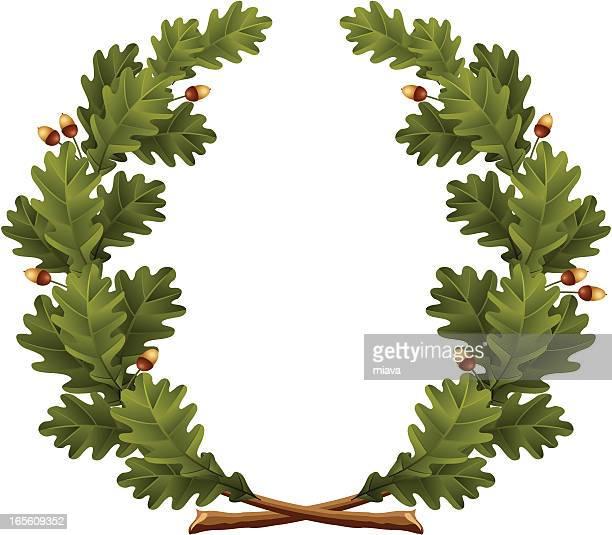 Wreath oak