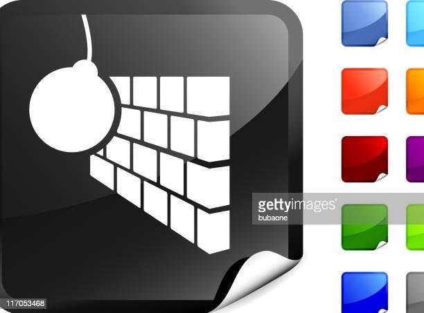 解体用鉄球インターネットロイヤリティフリーのベクター - 出現点のイラスト素材/クリップアート素材/マンガ素材/アイコン素材