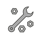 Wrench - Automotive Icon