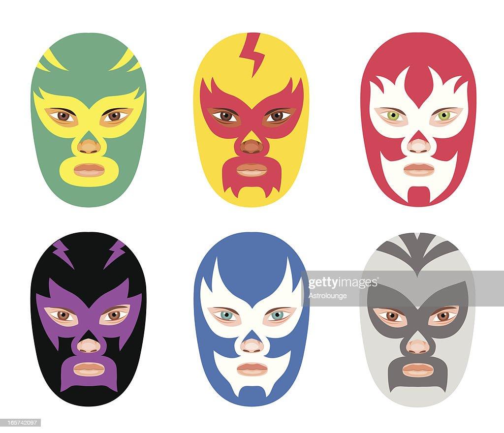 Wrestler Masks