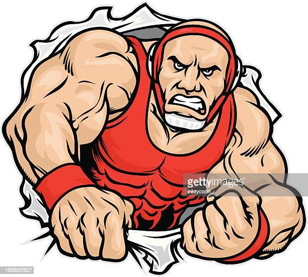 Wrestler Shirt Rip