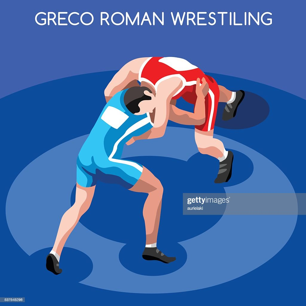 Wrestling Greco Roman Isometric Athletes Sporting Championship International Wrestling Competition