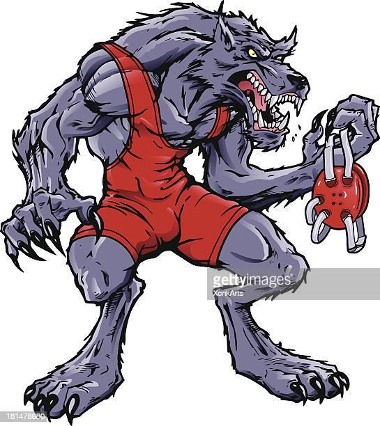 Wrestling Wolf