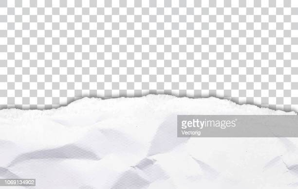 wrinkly paper background - newspaper stock illustrations