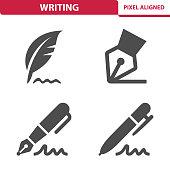 Writing Icons
