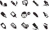 Writing Pencil Icons