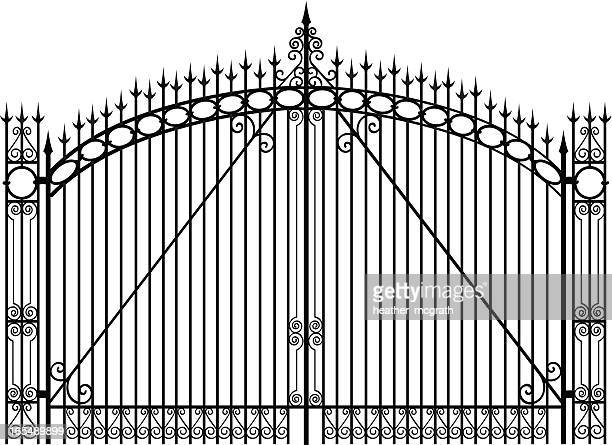 60 Top Gate Stock Illustrations Clip Art Cartoons