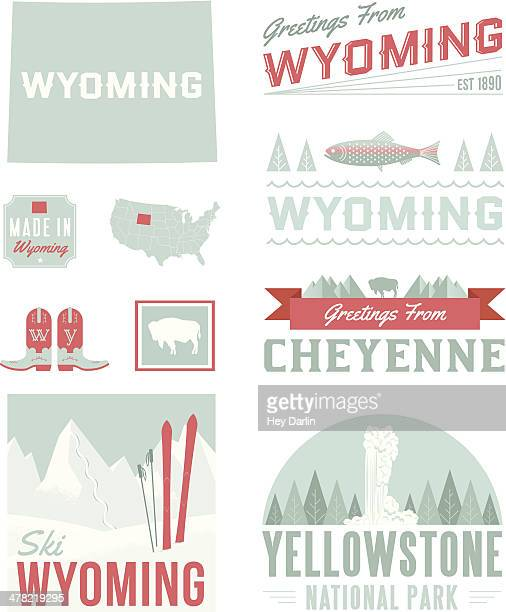 Wyoming Typography