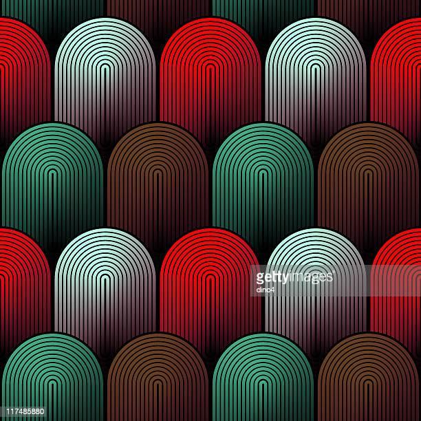 xela (スムーズ - スカラップ模様点のイラスト素材/クリップアート素材/マンガ素材/アイコン素材