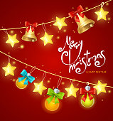 Xmass Card Background with Text. Vector