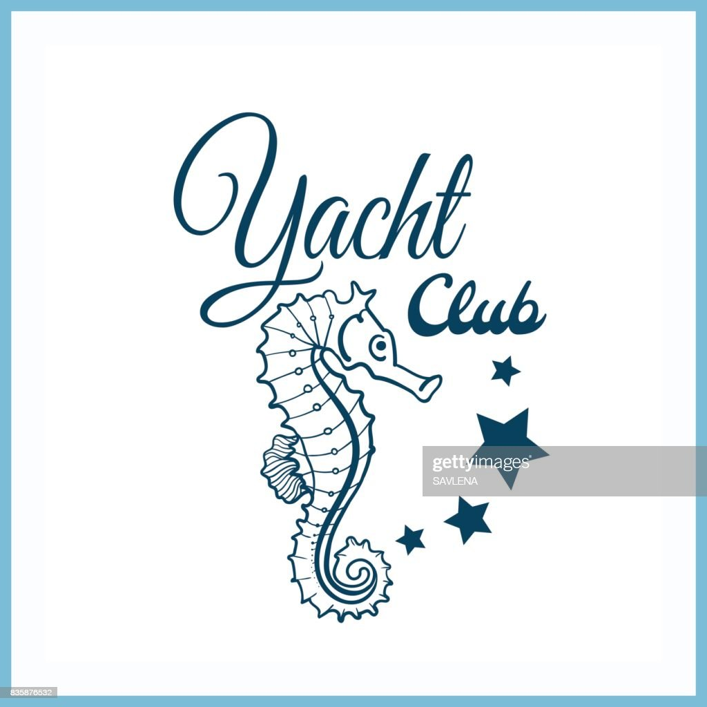 Yacht_Club_Badge_With_Seahorse
