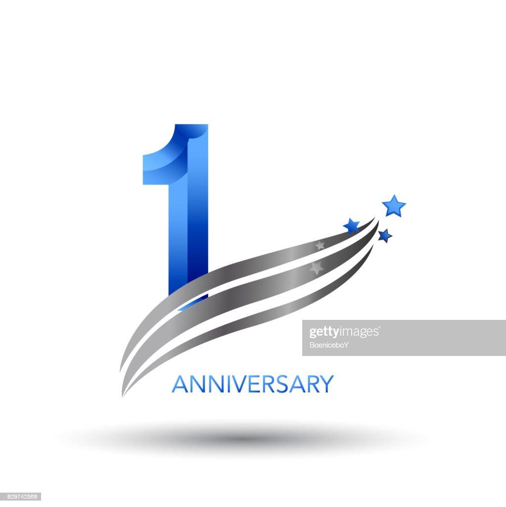 1 Year Anniversary Celebration Design