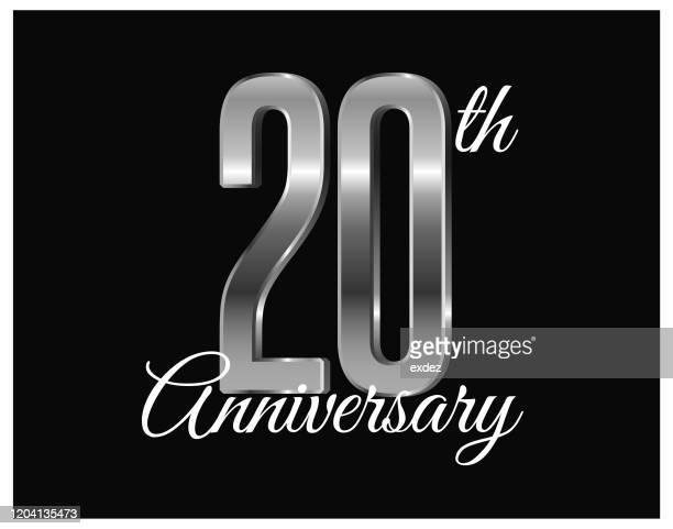 20周年記念 - 聖年点のイラスト素材/クリップアート素材/マンガ素材/アイコン素材