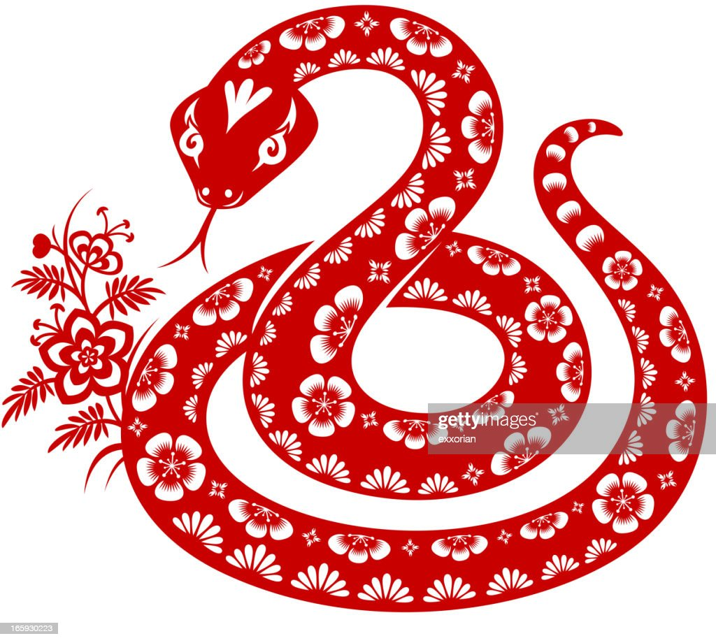 Year Of The Snake Vector Art Getty Images