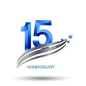 15 Years Anniversary Celebration Design