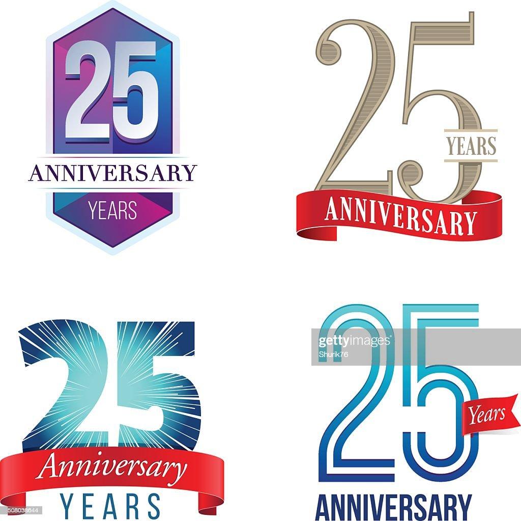 25 Years Anniversary Logo