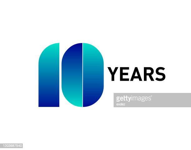 10周年記念 - 10周年点のイラスト素材/クリップアート素材/マンガ素材/アイコン素材
