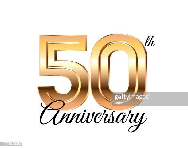 50周年記念 - 数字の50点のイラスト素材/クリップアート素材/マンガ素材/アイコン素材