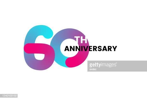 60周年記念 - 60周年点のイラスト素材/クリップアート素材/マンガ素材/アイコン素材