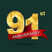 91 years anniversary