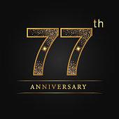 77 years luxury anniversary