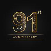 91 years luxury anniversary