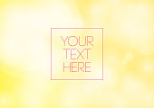 Yellow Abstract Colorful Gradient Background
