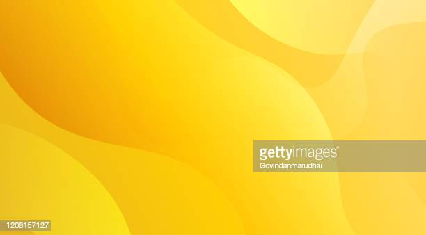 yellow and orange unusual background with subtle rays of light - design stock illustrations