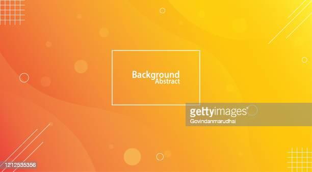 yellow and orange unusual background with subtle rays of light - orange colour stock illustrations