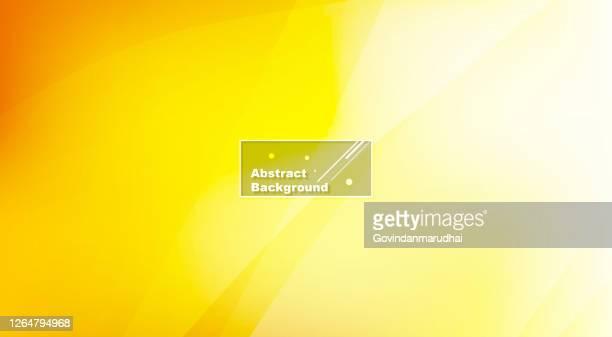 stockillustraties, clipart, cartoons en iconen met gele en oranje ongebruikelijke achtergrond met subtiele stralen van licht - gele achtergrond
